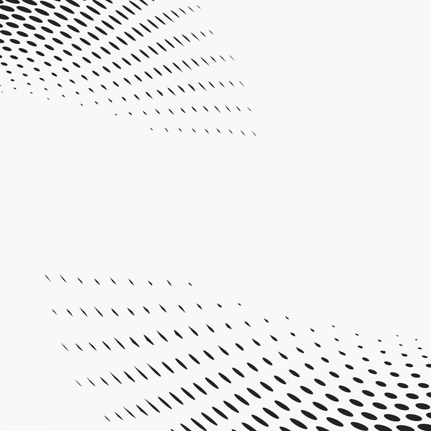 Black Halftone Dots Design Element Free Image By Rawpixel Com Nunny