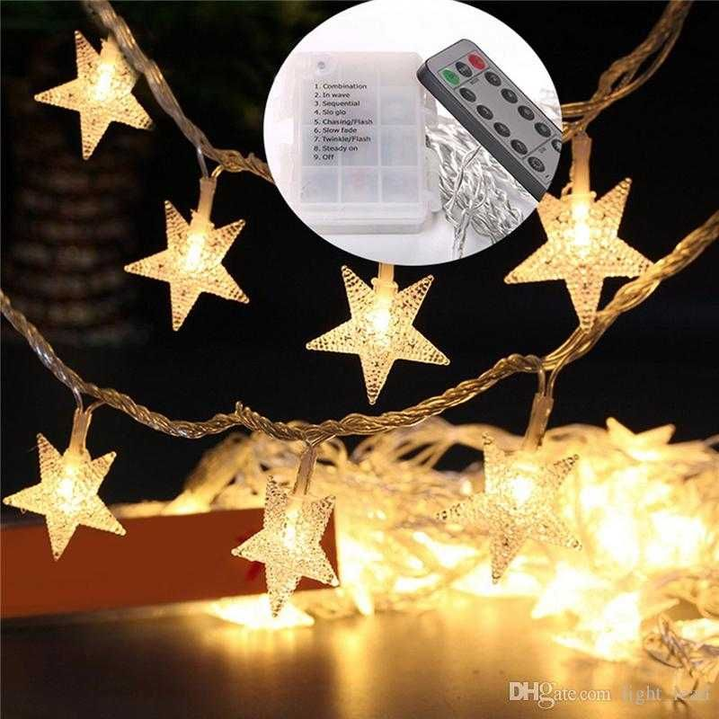 Remote Control Outdoor Christmas Lights