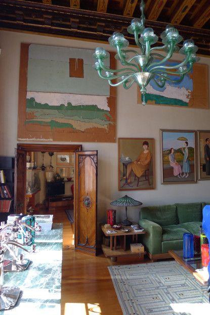 stunning vintage modern living room honeysuckle life   A Collector's Life - L'ArcoBaleno   Living Room   Living ...