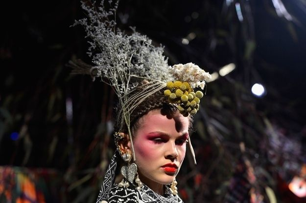 What forest did this stuff come from? | 12 Things You Might Ask Yourself About Australia Fashion Week