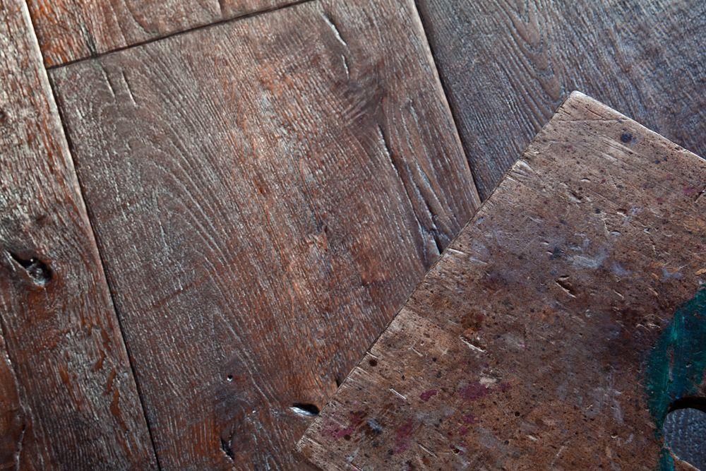 Antique Oak handscraped, handmade floor Cabana Collection  www.antiqueoak.pl