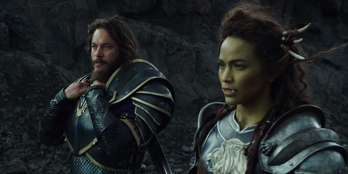 Anduin Lothar Garona Halforcen Warcraft Movie Travis Fimmel