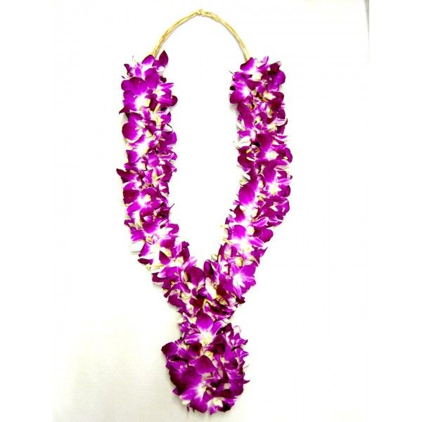 Orchid Garland The Flower Hub Indian Wedding Garland Orchid Wedding Garland