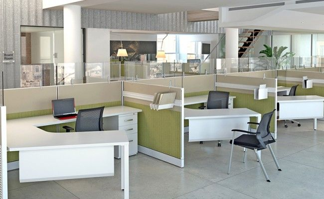 Dallas Workstations Open Concept Office Space Google