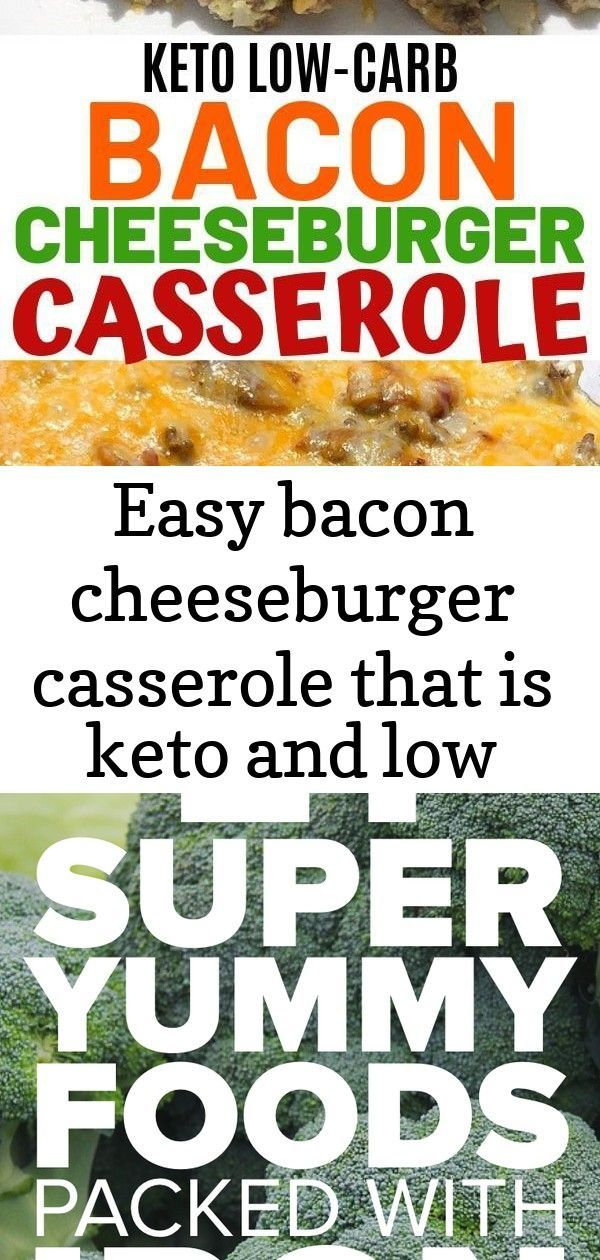 Easy bacon cheeseburger casserole that is keto and low carb. this recipe uses ground beef and... Ea