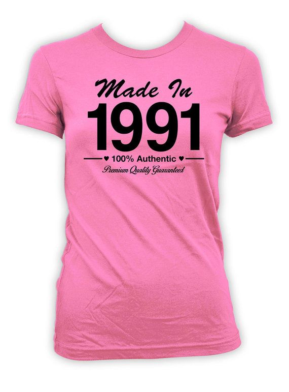 25th Birthday T Shirt