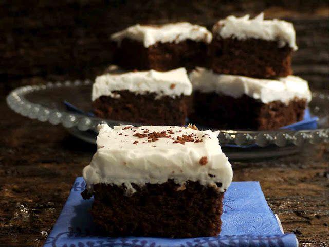 Brownies de mermelada y merengue. Aliter Dulcia