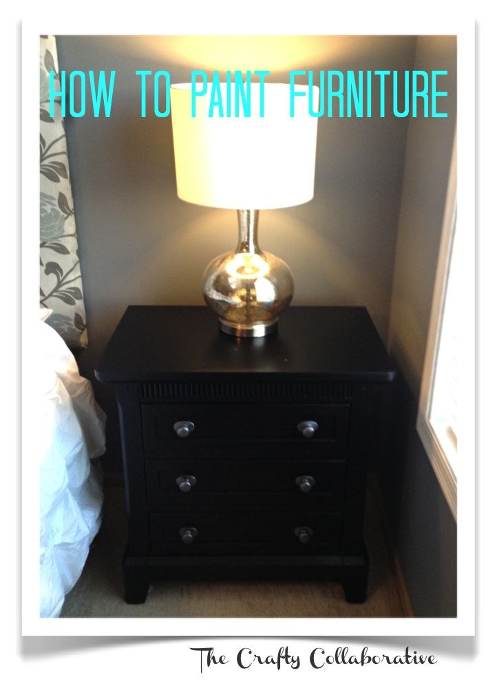 We Tried It How to Paint Furniture