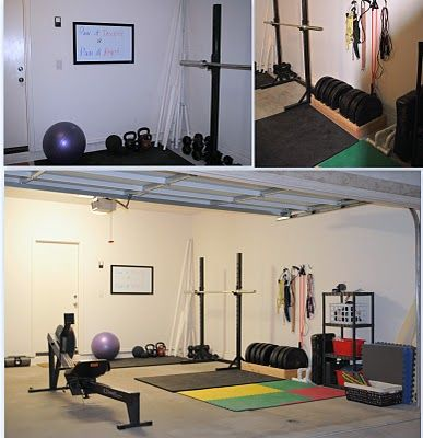 garage gym set up  gym room at home home gym set