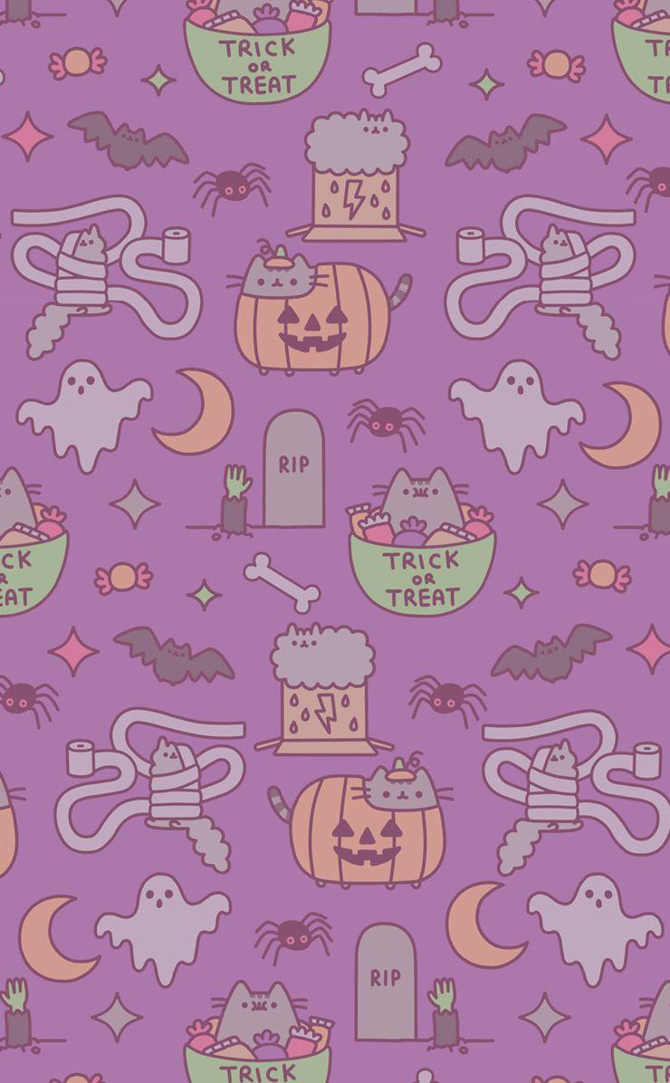 Pusheen Halloween on weheartit ALLH∆LL0WS£V£ Pinterest
