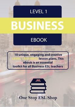Business English Level One Coursebook | Pinning Party on TPT | Esl