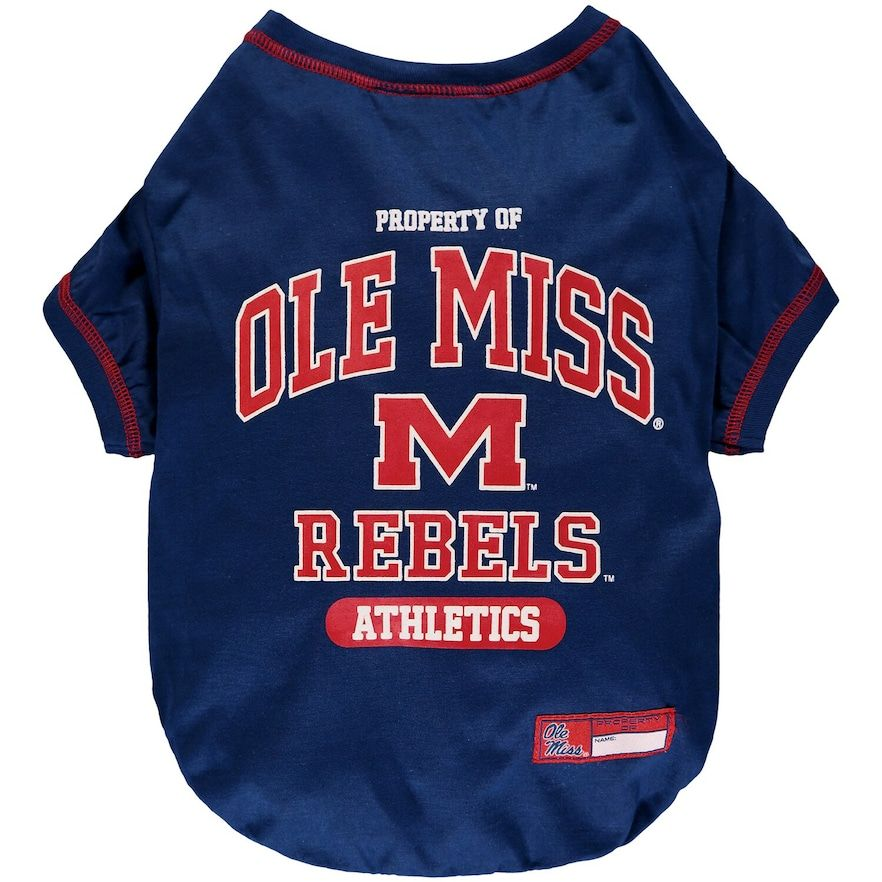 Ole Miss Rebels Pet T Shirt Size Small Ole Team In 2020 Ole Miss Ole Miss Rebels Shirts
