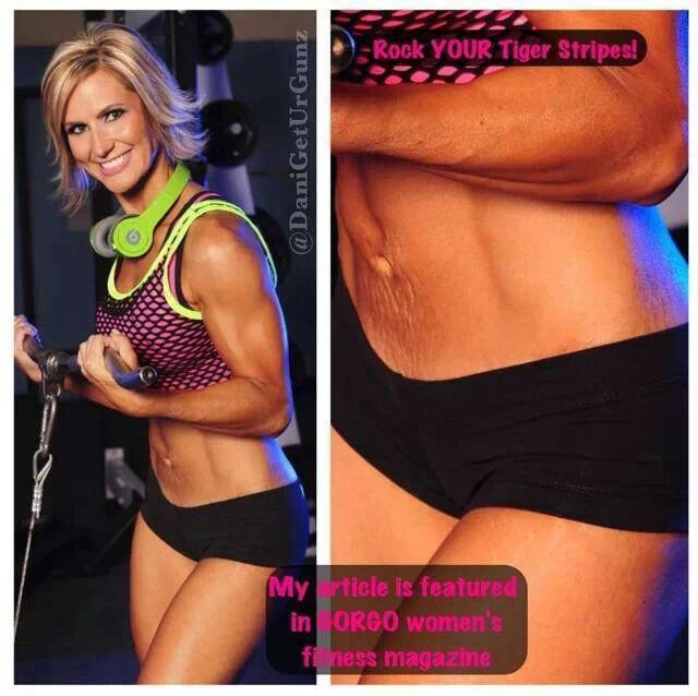 Rock YOUR Tiger Stripes | fitness inspiration