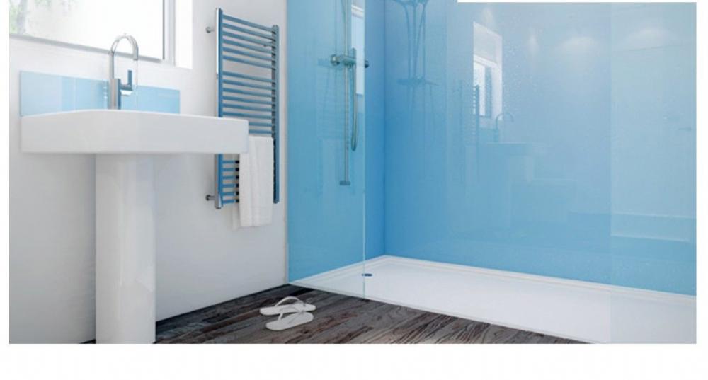 Mermaid Acrylic Panels Shower Corner Kit Various Colours Sizes All ...