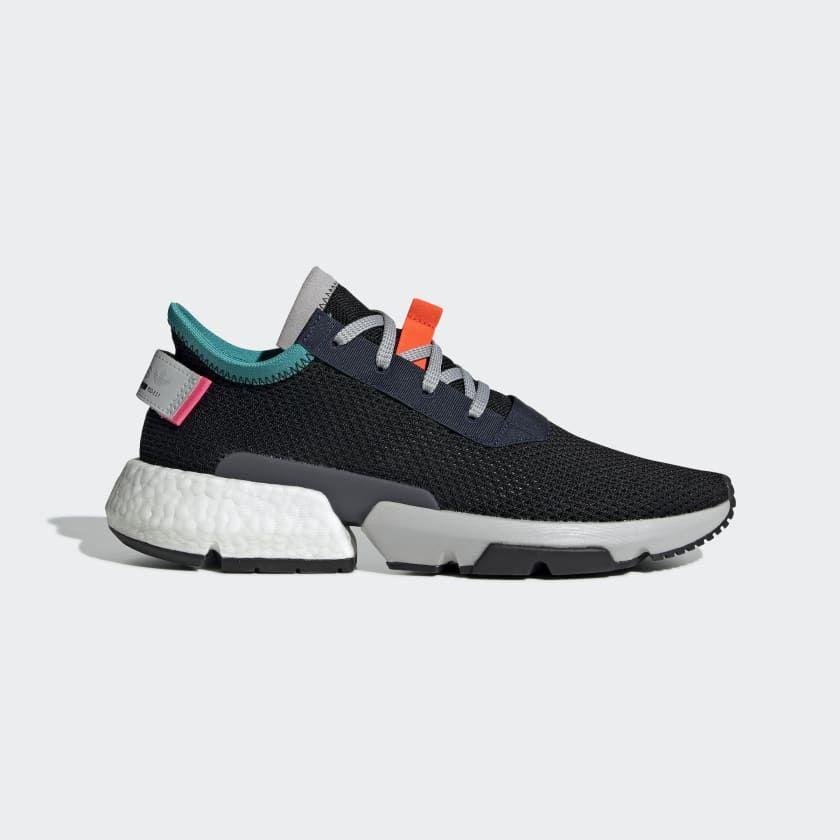 Adidas POD S3.1 Shoes Black B28080 | Adidas, Kicks shoes