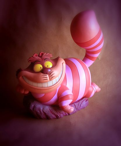 Cheshire Cat Big Fig Approved Production Sample Disney