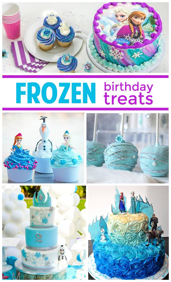 25 Fabulous Frozen Birthday Treats Cake pop Birthdays and Cake