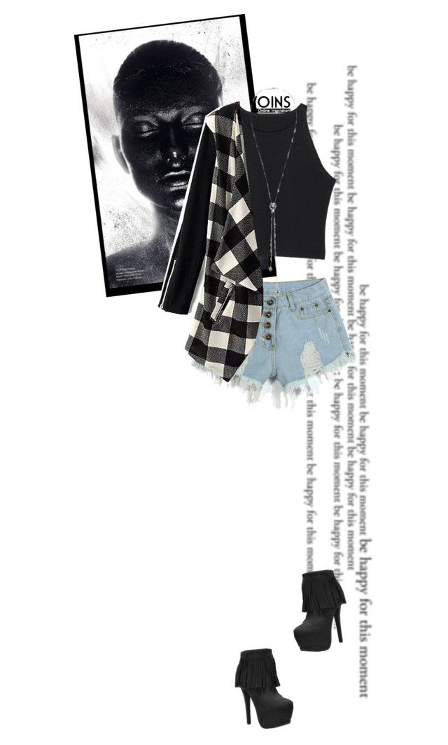 """""""Pixellated ~ Yoins 1"""" by hevsyblue2 ❤ liked on Polyvore featuring women's clothing, women, female, woman, misses, juniors, yoins and trendytweed"""