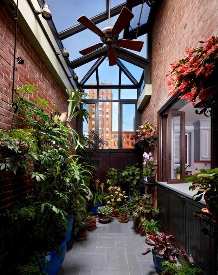 Aménager un jardin intérieur 105 idées de design original