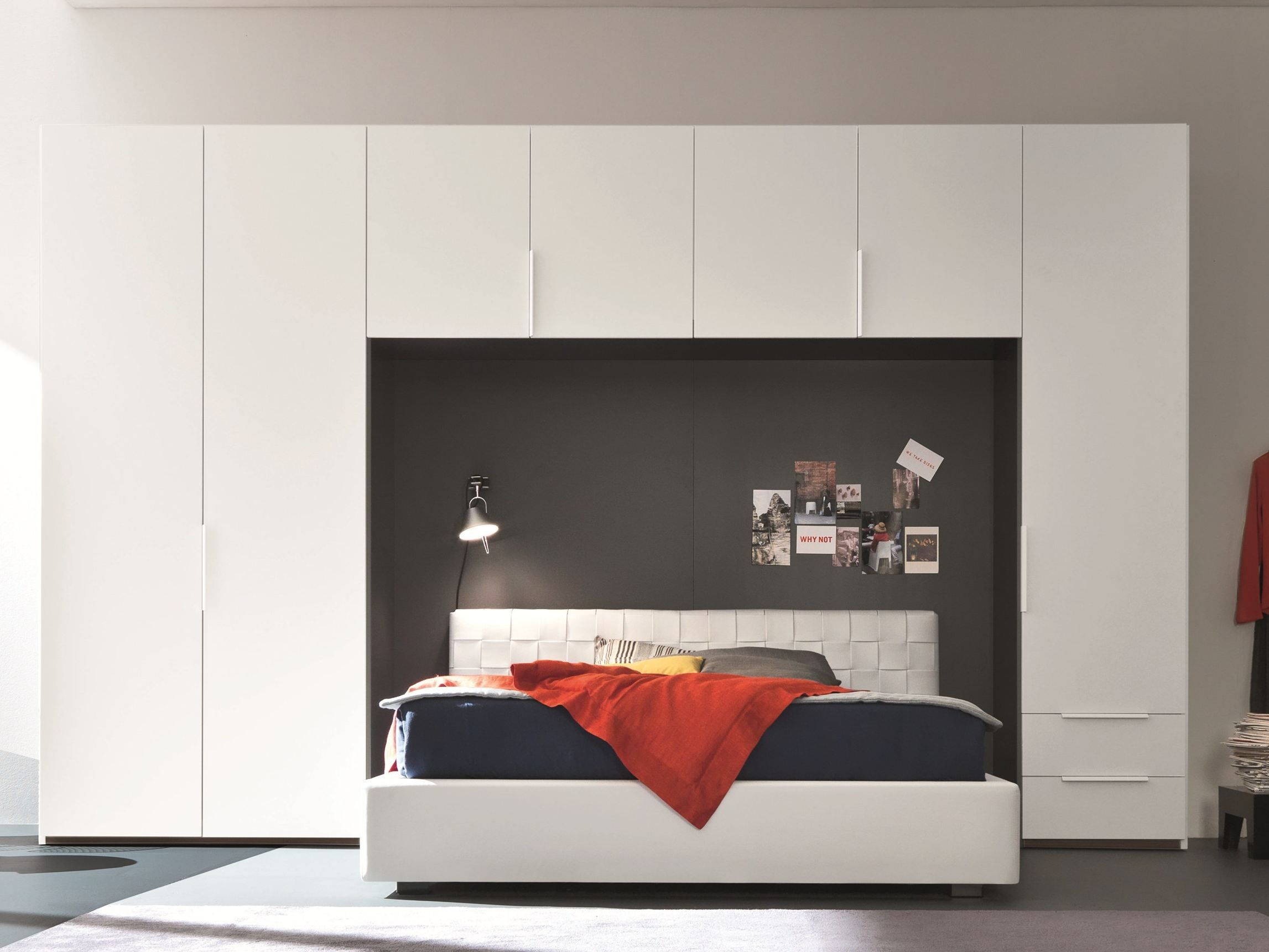 Bridge wardrobe with drawers Style Collection by SMA