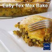 Easy Tex Mex Casserole  Nums Main Dish