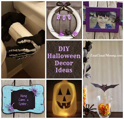 7 Fantastic DIY Halloween Decor Ideas Halloween crafts, Home-made - halloween homemade decoration ideas