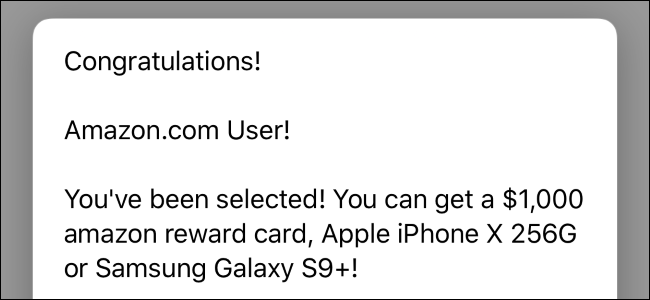 Why Do Websites Redirect To Fake Congratulations Gift Card Pages Congratulations Gift Gift Card Amazon Rewards Card