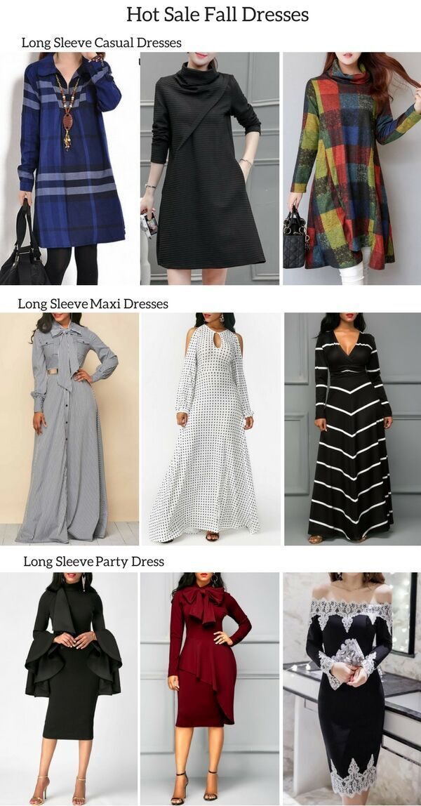 You Can Find All Kinds Of Long Sleeve Dresses Here Long Sleeve Casual Dresses Long Sleeve Maxi Dresses And Long Slee With Images Fashion Fashion Outfits African Fashion