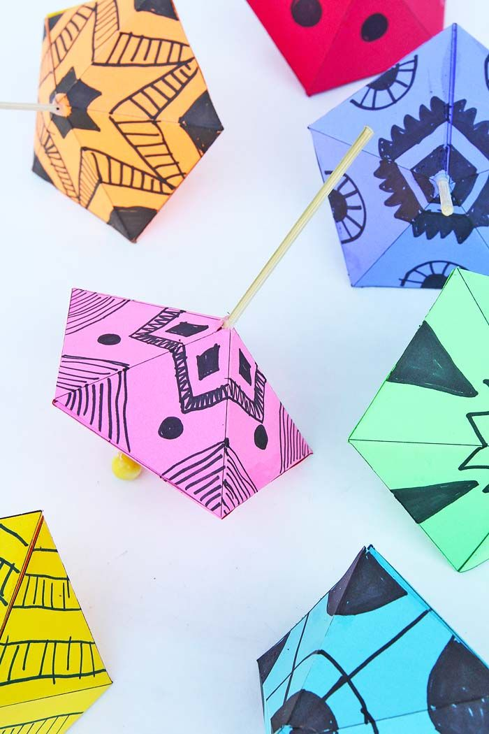 Simple Paper Toys Paper Tops Kids Crafts 101 Paper Crafts For
