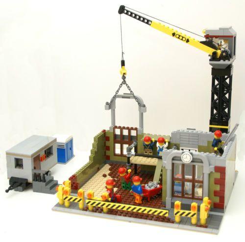Lego Instructions Modular Construction Sitecement Mixerdump Truck
