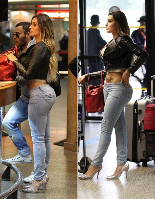 Urach jeans andressa Miss Bumbum