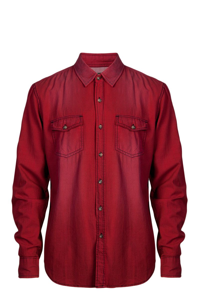 MR PRICE (men's) red denim shirt (R120) | Country *girl's ...