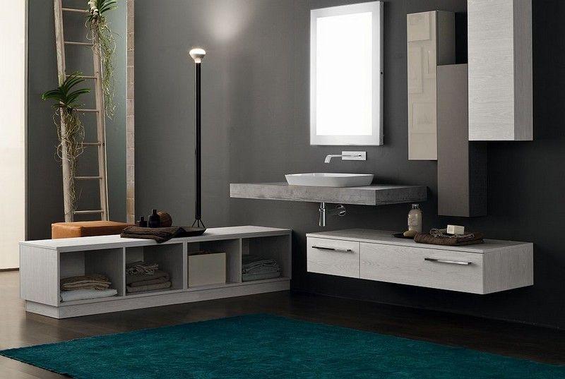 Salle de bain moderne - les tendances actuelles en 55 photos - Salle De Bain Moderne Grise