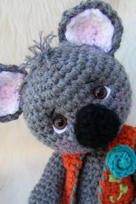 Crochet pattern koala bear by teri crews instant download