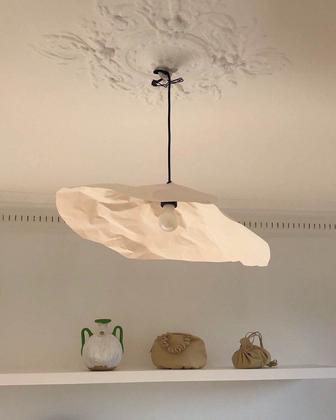 Paper Lamp Shade Lighting Inspiration Via Clarisse Demory In 2020 Lighting Inspiration Lamp Interior Deco
