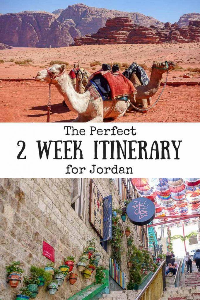 The Perfect Itinerary for 2 Weeks in Jordan #wadirum