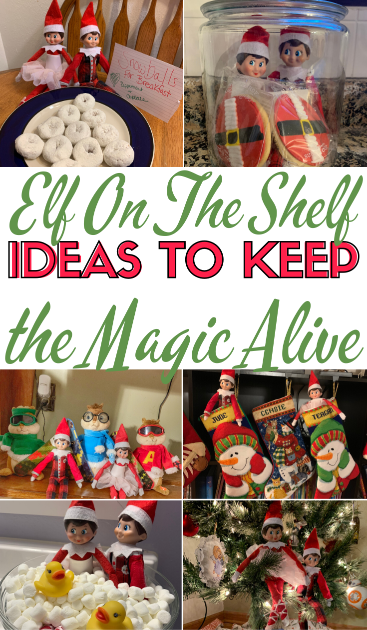 Elf On The Shelf: Ideas To Keep The Magic Alive #easyelfontheshelfideaslastminute