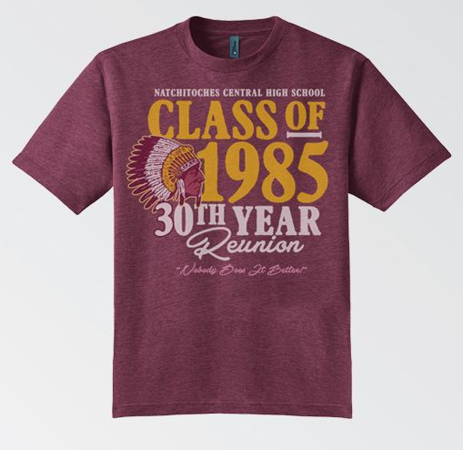 Old School Reunion Custom Unique Funny Unisex Tee Shirt