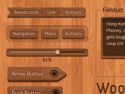 Wooden Interface Elements Psd Psd Freebies App Design Photoshop Design