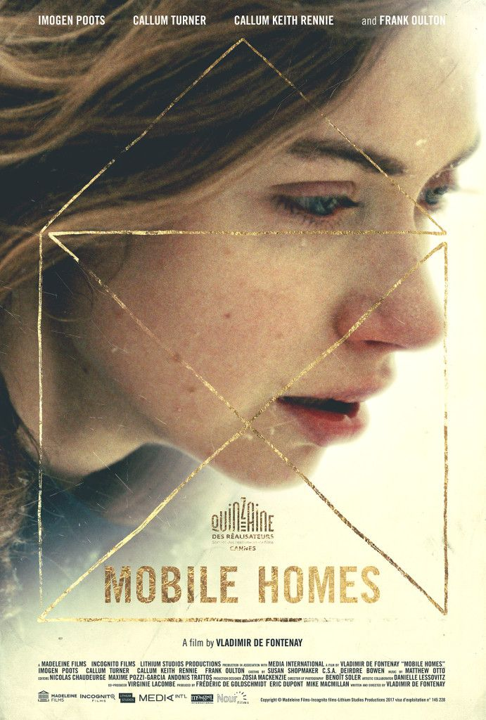 Imogen Poots In First Poster For Vladimir De Fontenay S Mobile Homes 2017 Full Movies Online Free Free Movies Online Streaming Movies Free
