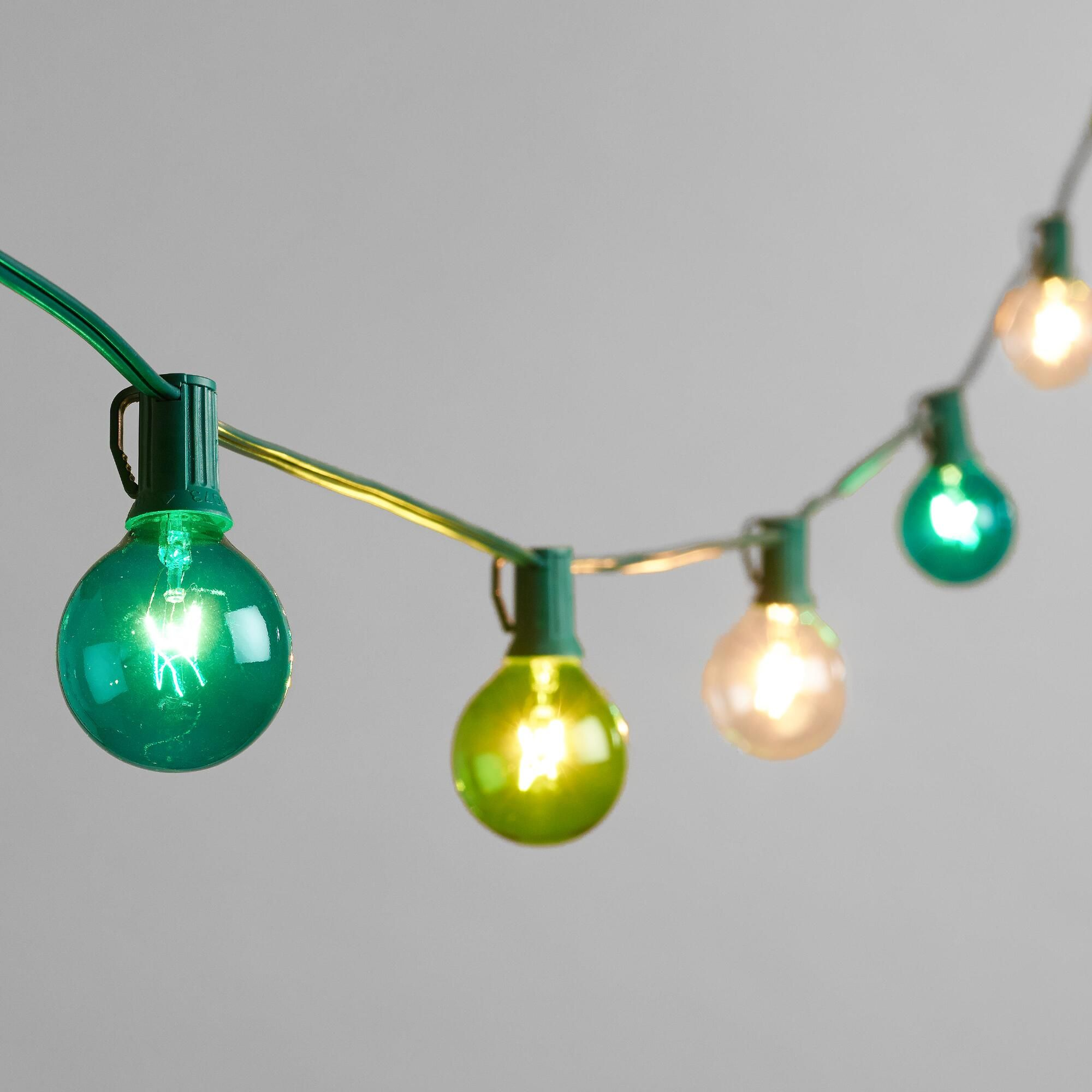 Blue And Green Seaside String Lights 30