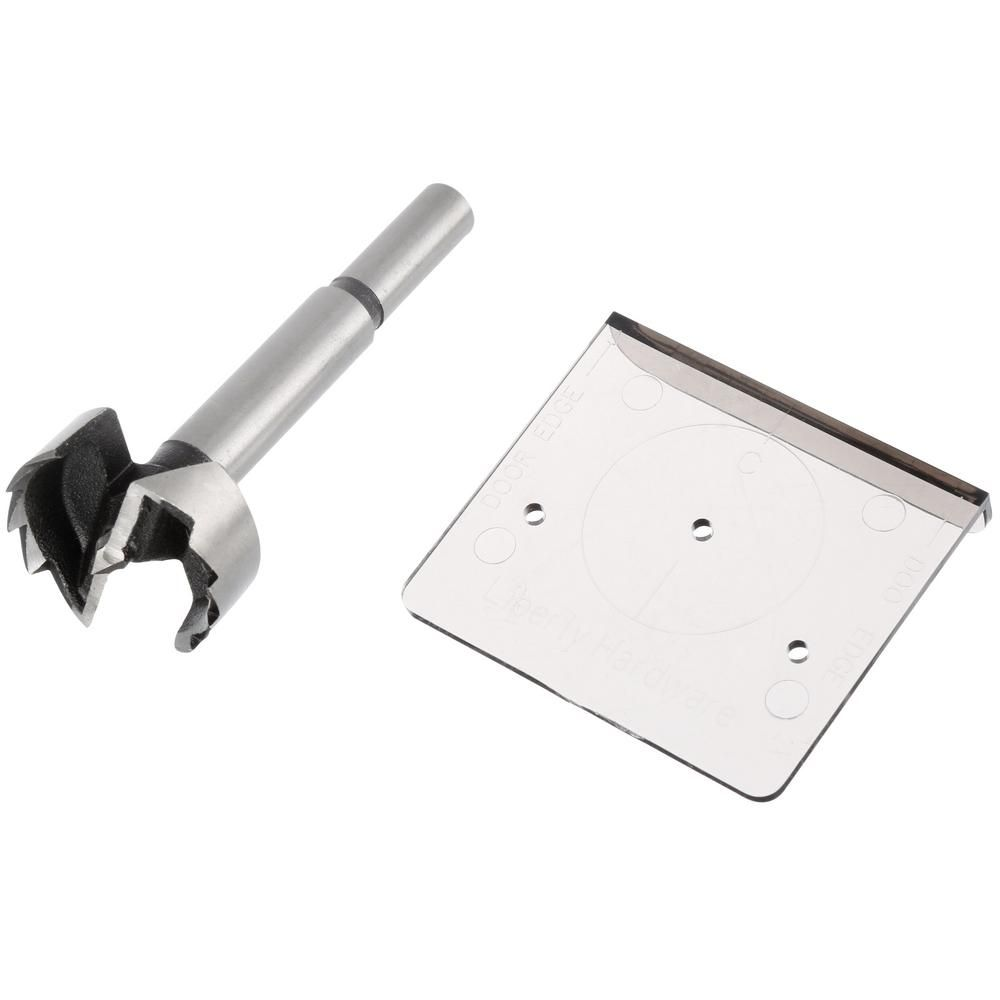 Liberty Align Right 1 3 8 In Cabinet Hinge Installation Template Hinges For Cabinets Installation Drill Bits