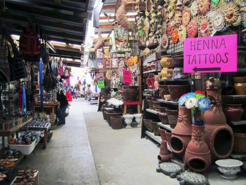 Mexican folk market
