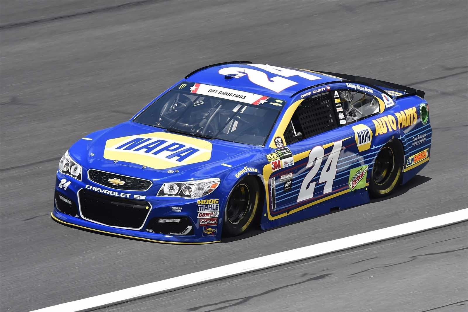 Coca-Cola 600  May 28, 2017  (Servicemember: CPT Todd Tyler Christmas) Chase Elliott will start third in the No. 24 Hendrick Motorsports Chevrolet.  Crew chief: Alan Gustafson  Spotter: Eddie D'Hondt  (Servicemember: CPT Todd Tyler Christmas)