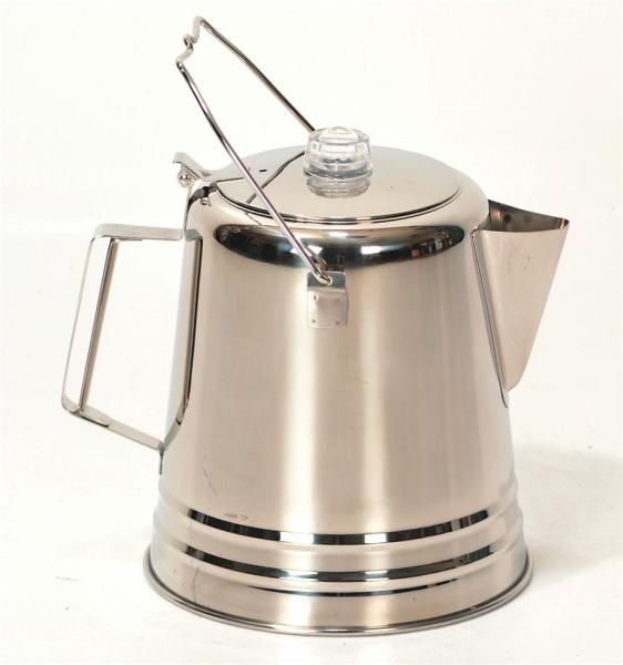 Giant Stainless Steel Coffee Pot