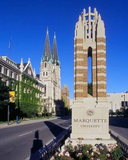 Without Marquette University I would not be here.  This is where my parents met.