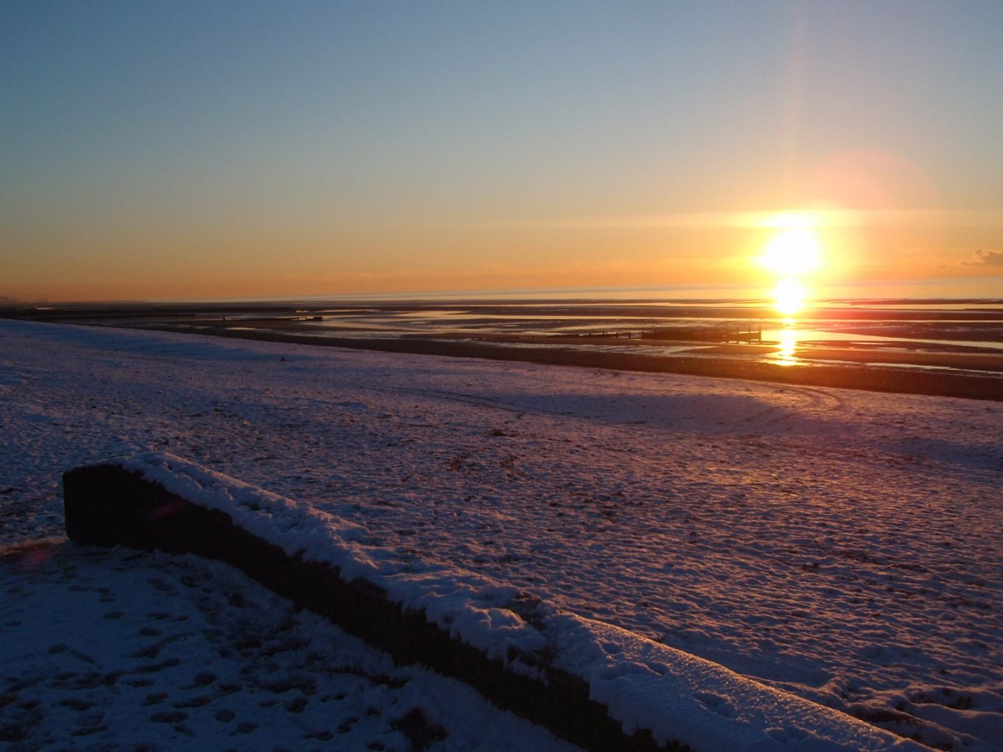 Snow at the Seaside (With images) Beautiful beaches