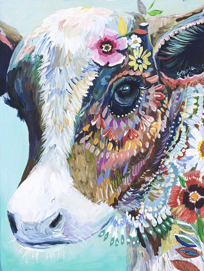 Les peintures color s danimaux de starla michelle dessein de dessin art pinterest - Peinture qui cache les defauts ...