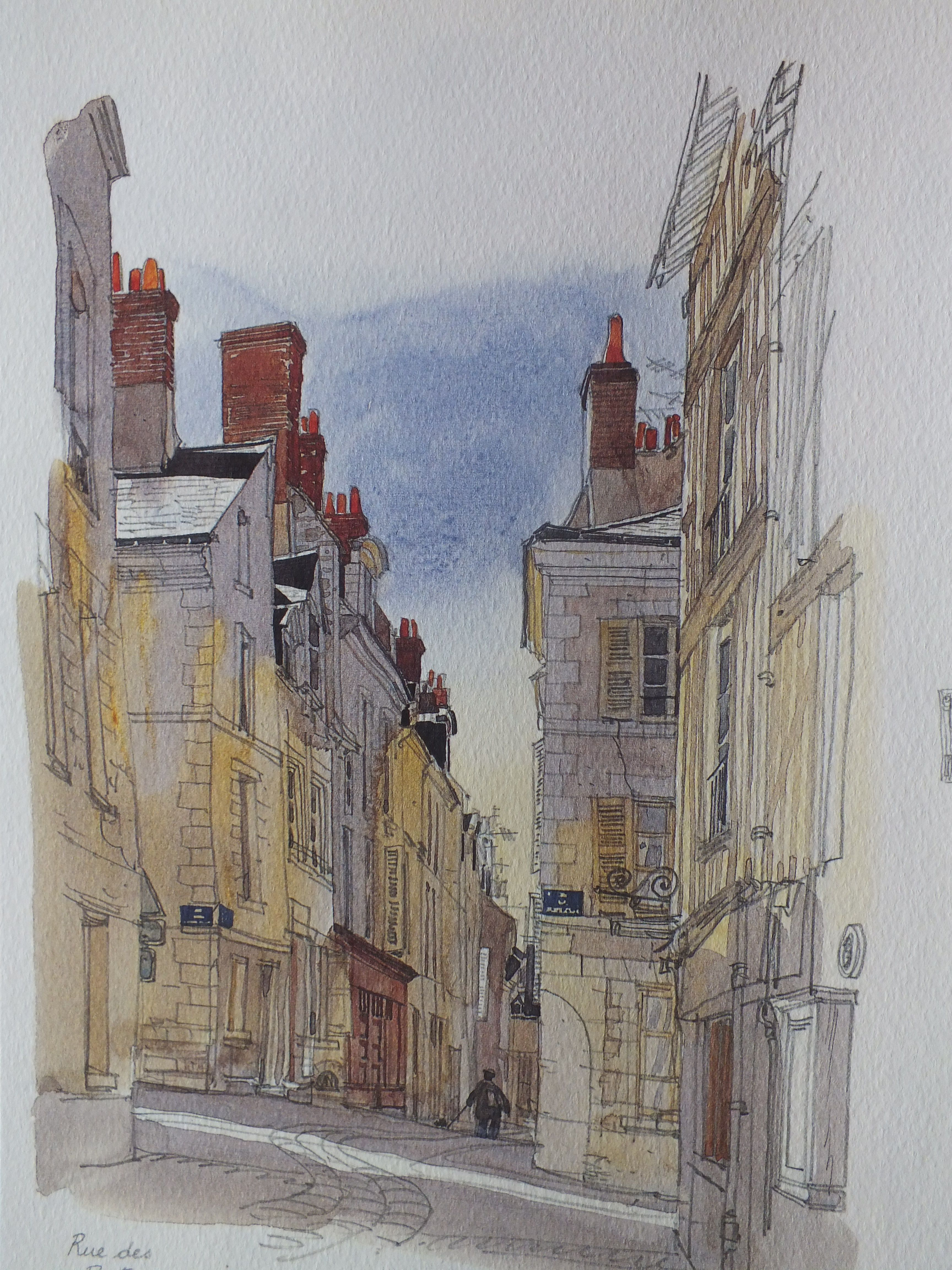 Painting By Fabrice Moireau Fabrice Moireau Croquis Aquarelle