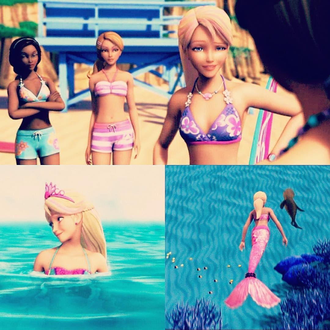 Merliah Summers Mattel Animation Mermaid Surfergirl Merliah